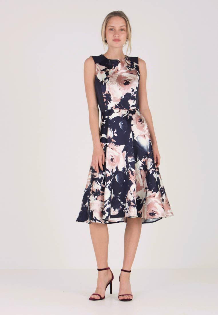 big sale 60079 451be Cocktailkleid/festliches Kleid - dark blue/rose @ Zalando.de ...
