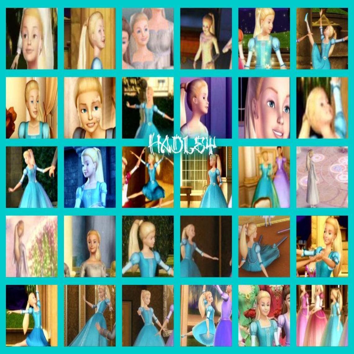 Barbie Rock N Royals Wallpaper: Hadley Barbie In The 12 Dancing Princesses