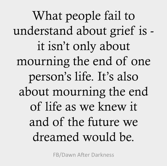 What People Fail To Understand About Grief Is   It Isnu0027t Only About Mourning