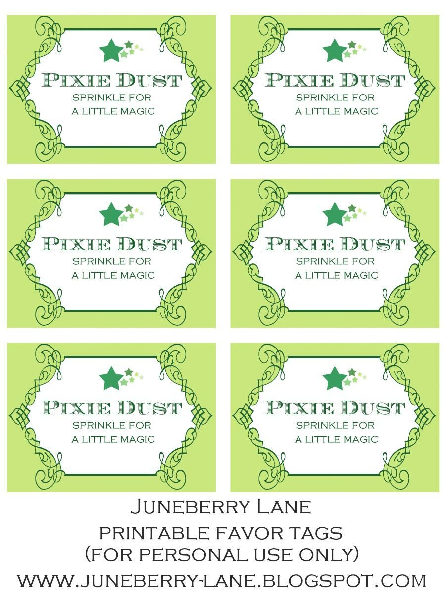 Disney Cruise Pixie Dust Tag Christmas