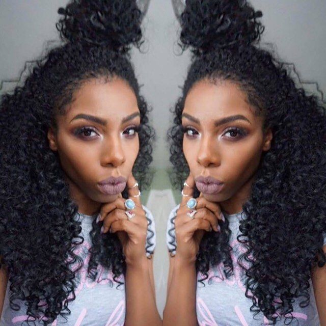 Curly Hair X Top Knot Ig Beigeojai Outre Quick Weave