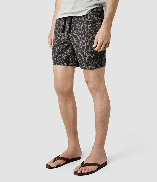 db079157916 Mens Cater Swim Shorts (Washed Black) | ALLSAINTS.com Men Swimwear, Swim