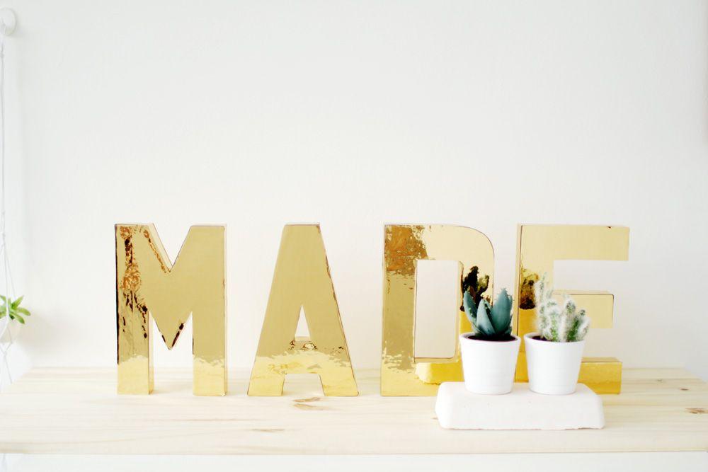 deko buchstaben selber basteln aus klein mach gro dekorieren statt blamieren in 2018. Black Bedroom Furniture Sets. Home Design Ideas