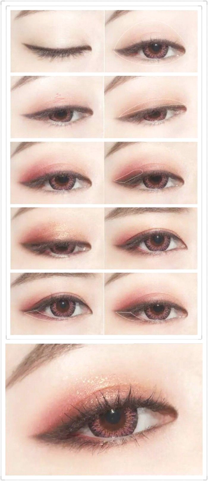 Tutorial Feminine Hanbok Makeup by Heizle (With images