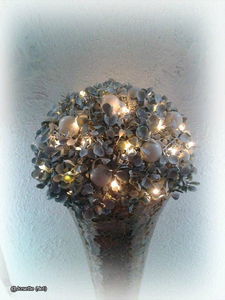 Zelf idee decoratie voor Christmas