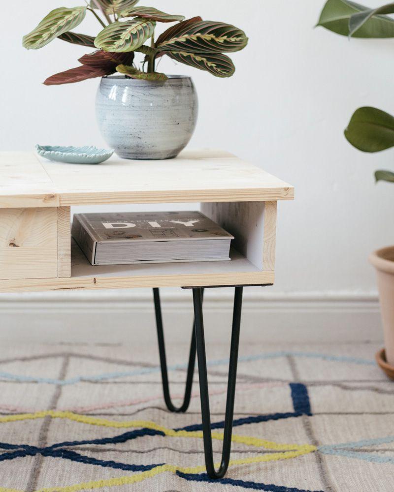 10 tables basses DIY pour votre salon | Shake My Blog