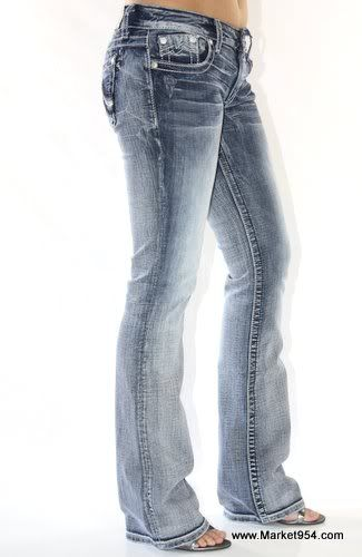 9af8fe3a785 NEW Style! MISS ME JEANS M Stretch Stone Washed Light blue Denim ...