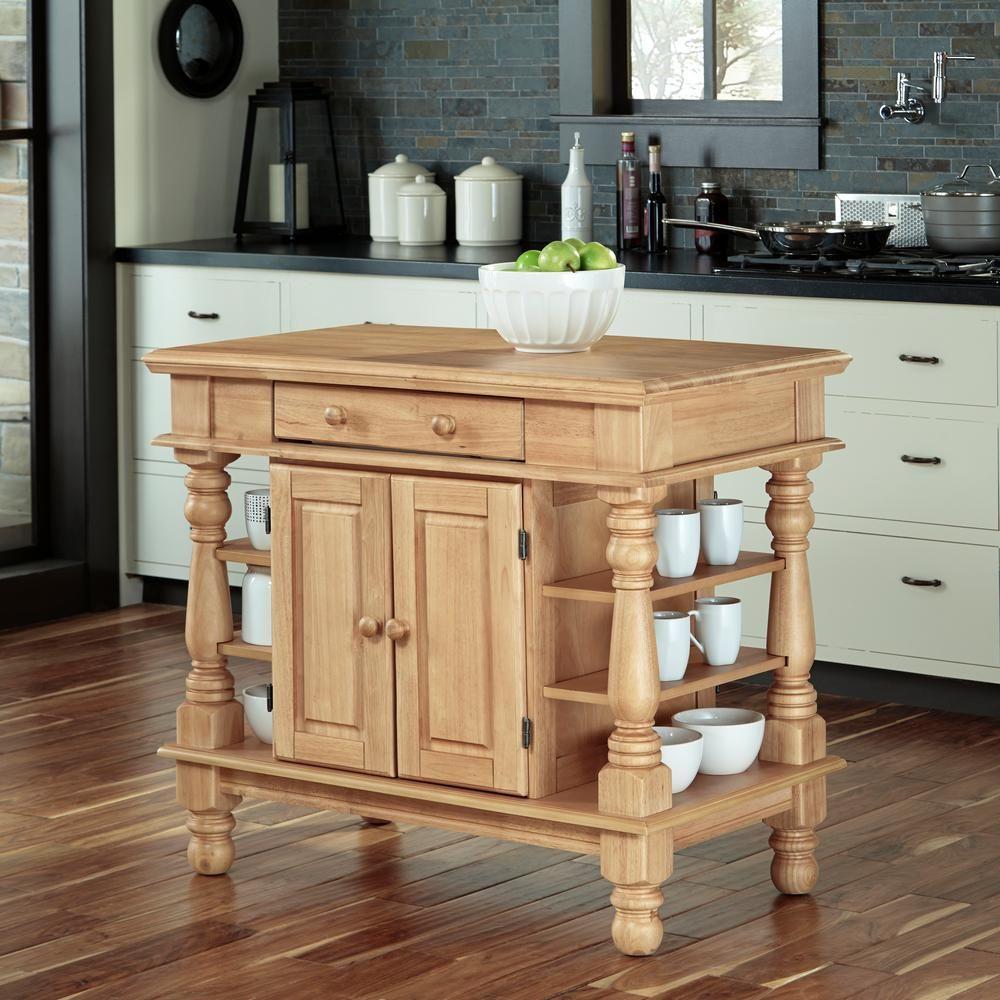 Home Styles Americana Maple Kitchen Island With Storage Bancos Para Ilha De Cozinha Ilha Cozinha Da Fazenda Bordado De Cozinha