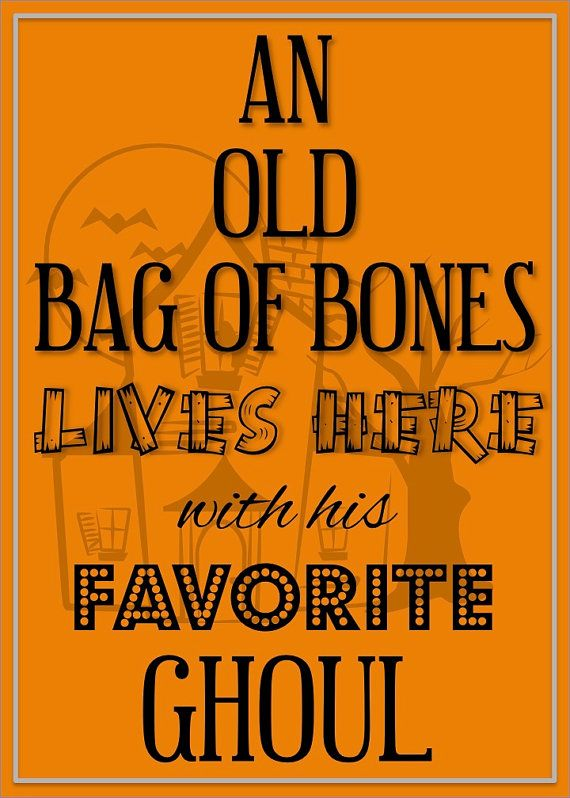 Halloween Print Digital Halloween Print by LCODesignandPaperie - print halloween decorations