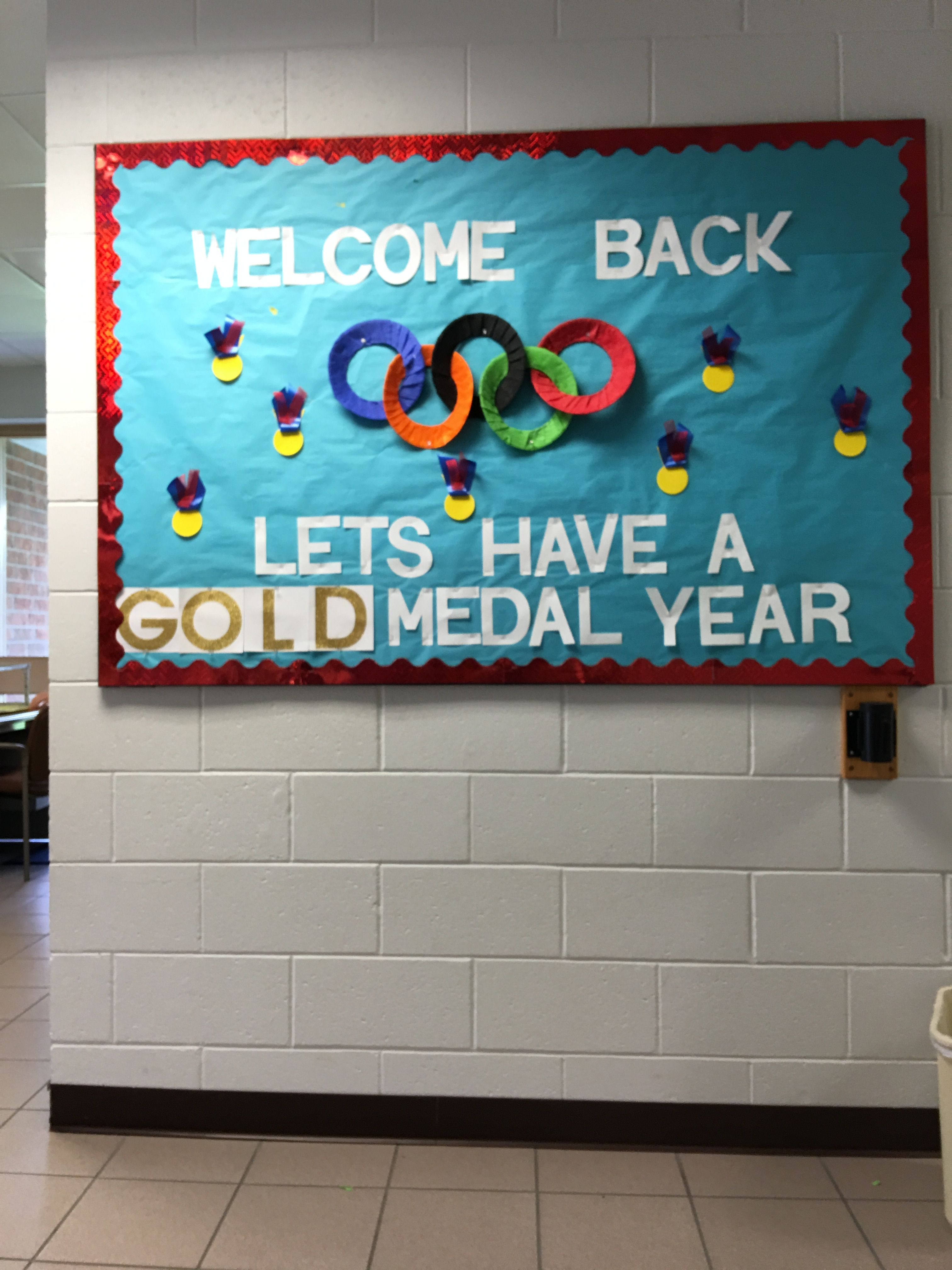 Back Let's Have a Gold Metal Year Olympics