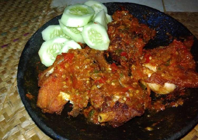 Resep Ayam Penyet Oleh Intan Ali Resep Resep Ayam Resep Masakan