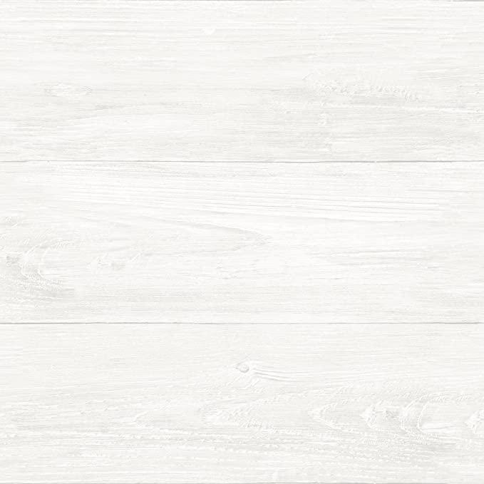 Nuwallpaper Nu3129 Reclaimed Shiplap Peel Stick Wallpaper White Off White Amazon Com White Wood Wallpaper Peel And Stick Shiplap Nuwallpaper
