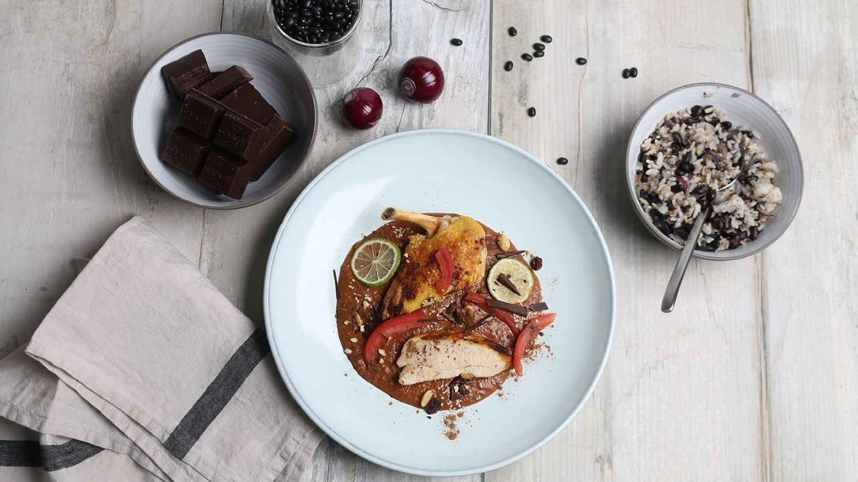 H hnchen mit mole poblano rezepte ard buffet rezepte for Paprikahuhn ungarisch
