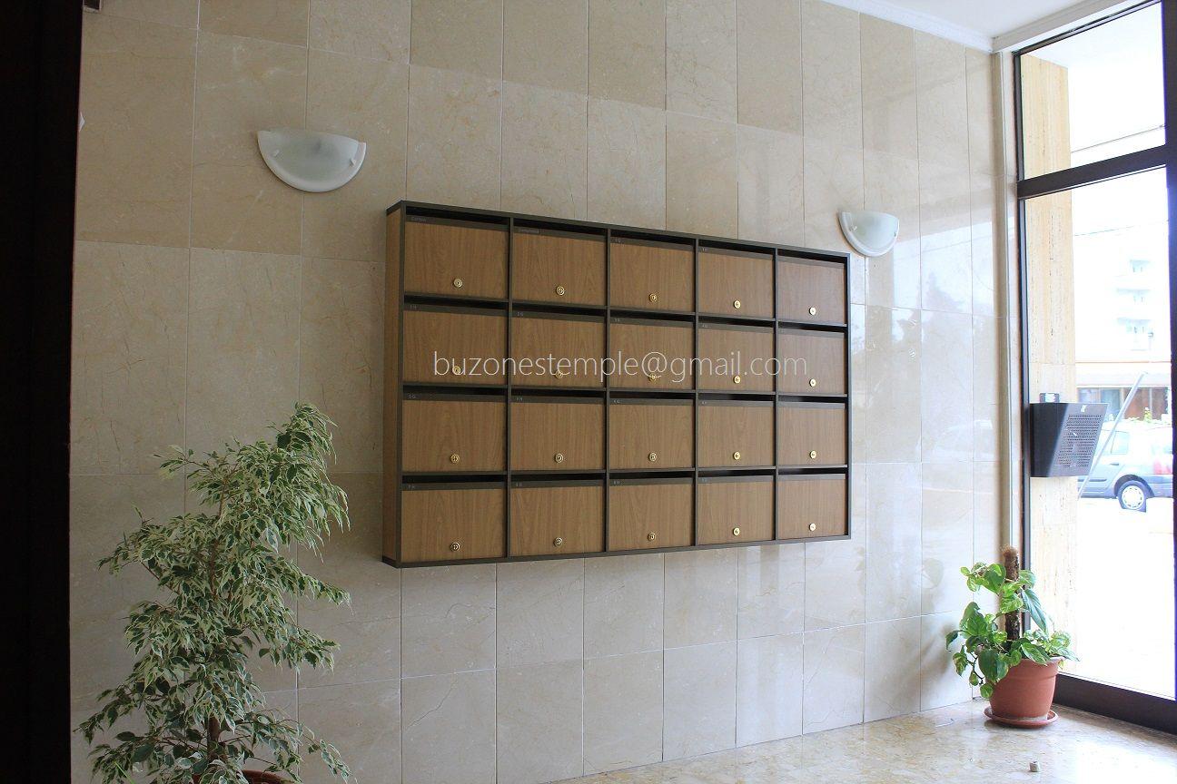 Buzones para comunidades mueble compacto perfiles de for Perfiles aluminio para muebles