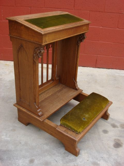 A Prie Dieu Or Prayer Kneeler Want To Create Some Sort Of Quiet Place In Our House Church