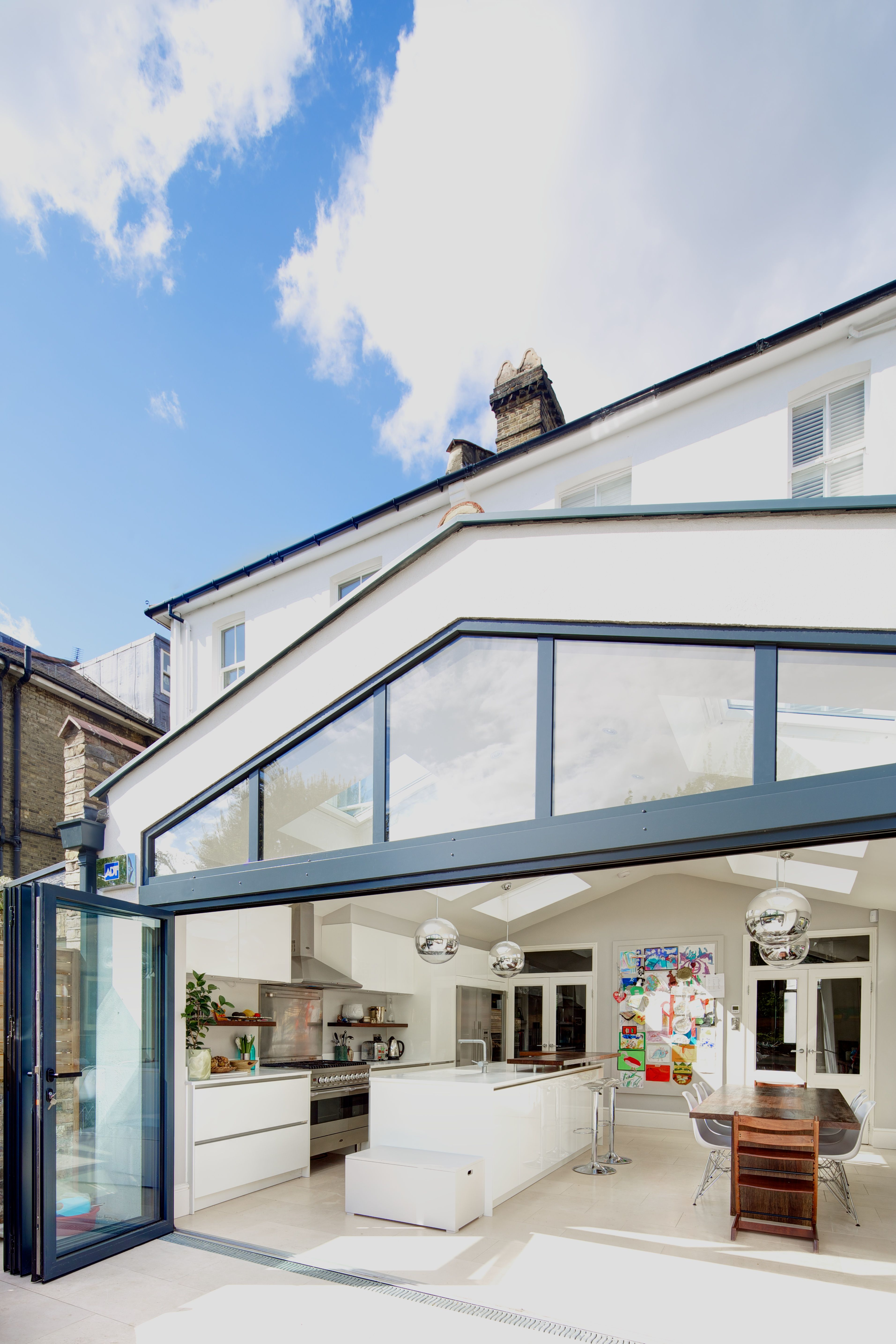 Let the light in! This stunning #kitchenextension is by ...