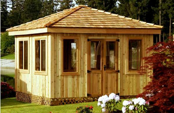 enclosed gazebo plans   Someday... my backyard   Pinterest ...