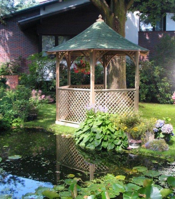 Pavillon selber bauen Anleitung+25 elegante Gestaltungsideen - anleitung pool selber bauen