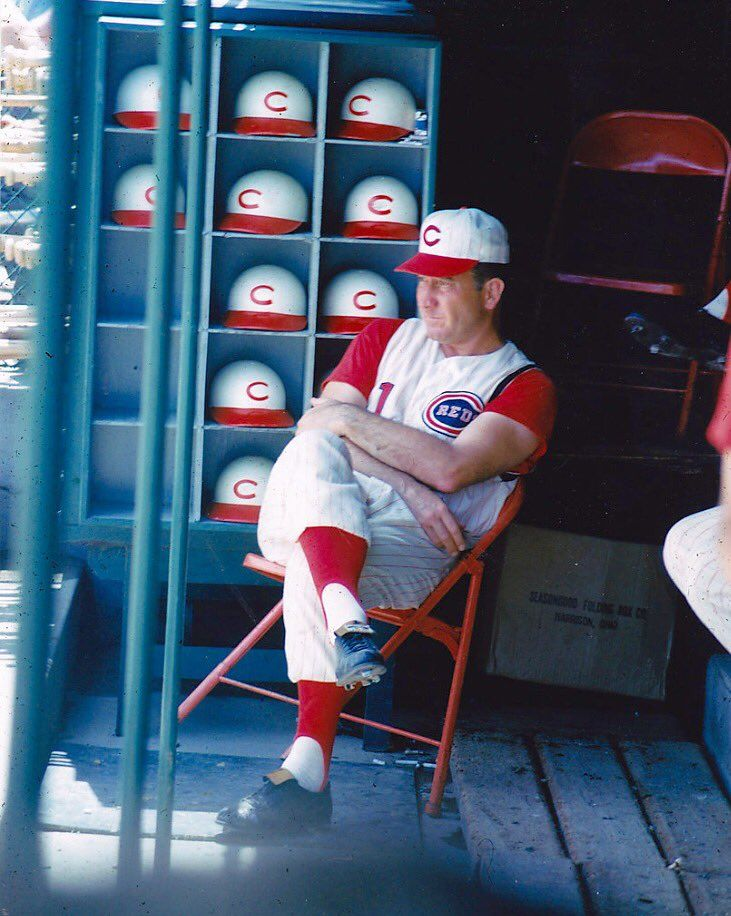 Reds manager Fred Hutchinson early 60s