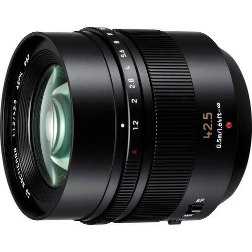 Panasonic Leica 42 5mm F 1 2 Dg Nocticron Asph Power Ois Lens Leica Panasonic Lumix Panasonic Camera