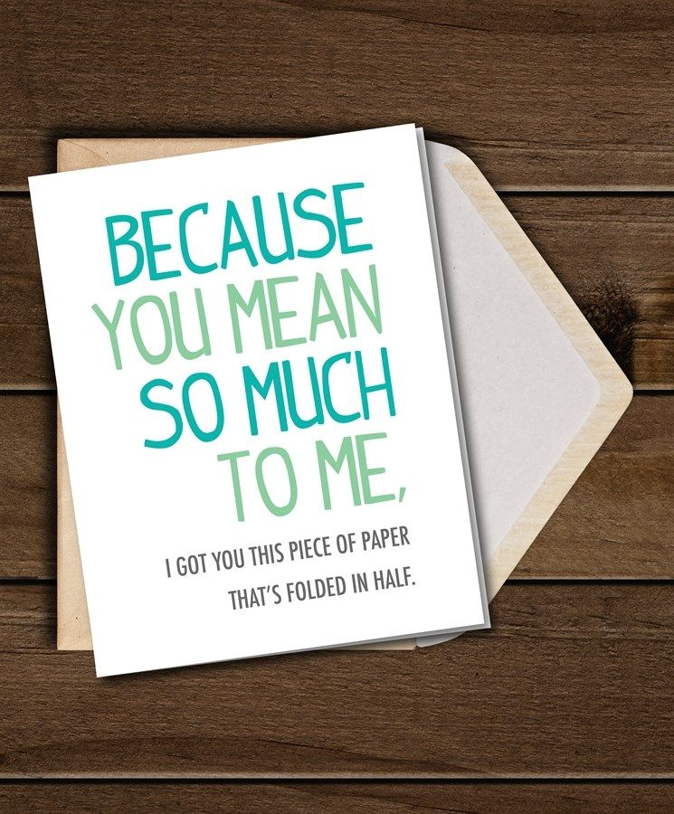 Sarcastic Greeting Cards