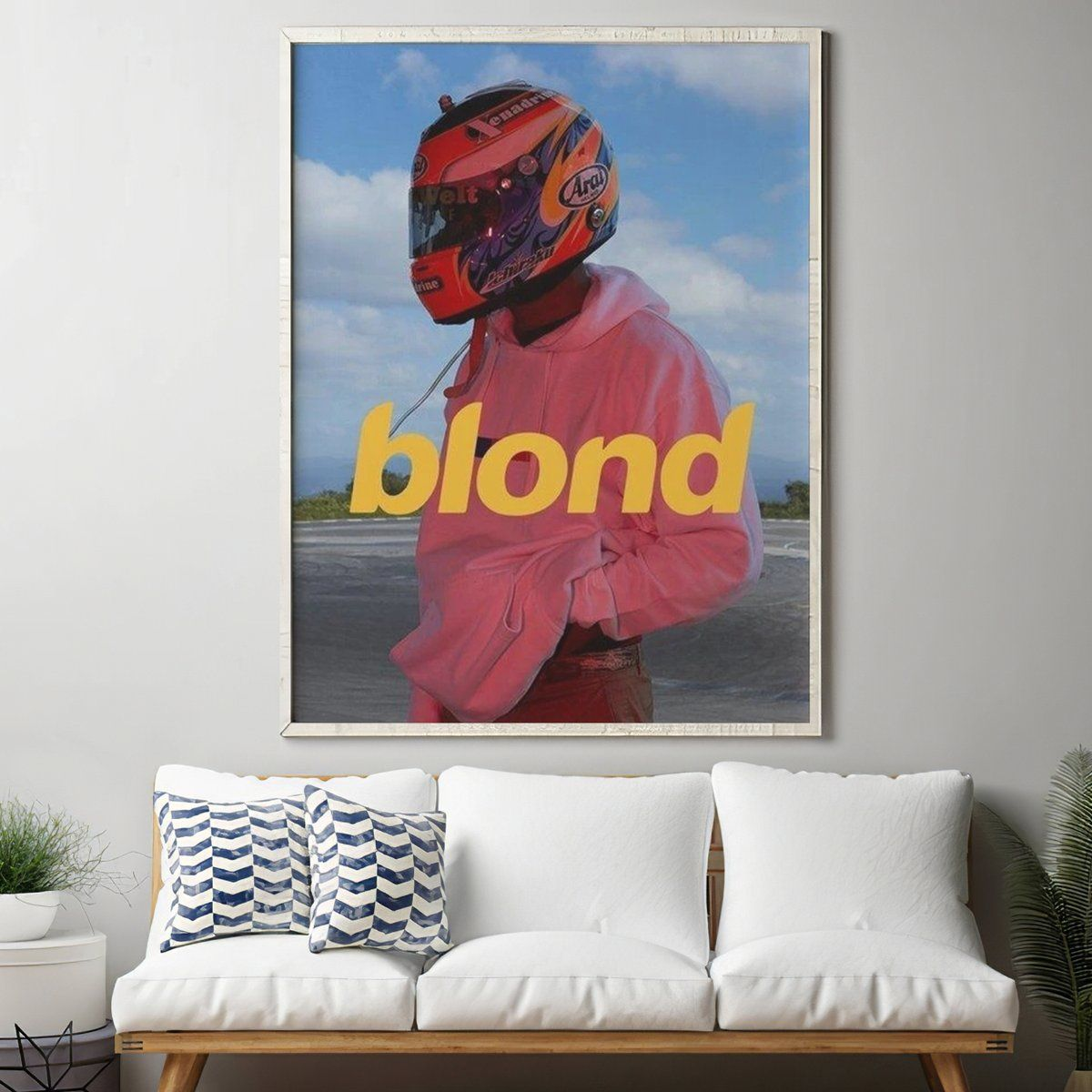 Blond Poster Exclusive At Wallart Eshop In 2020 Wall Art Poster Lyric Poster