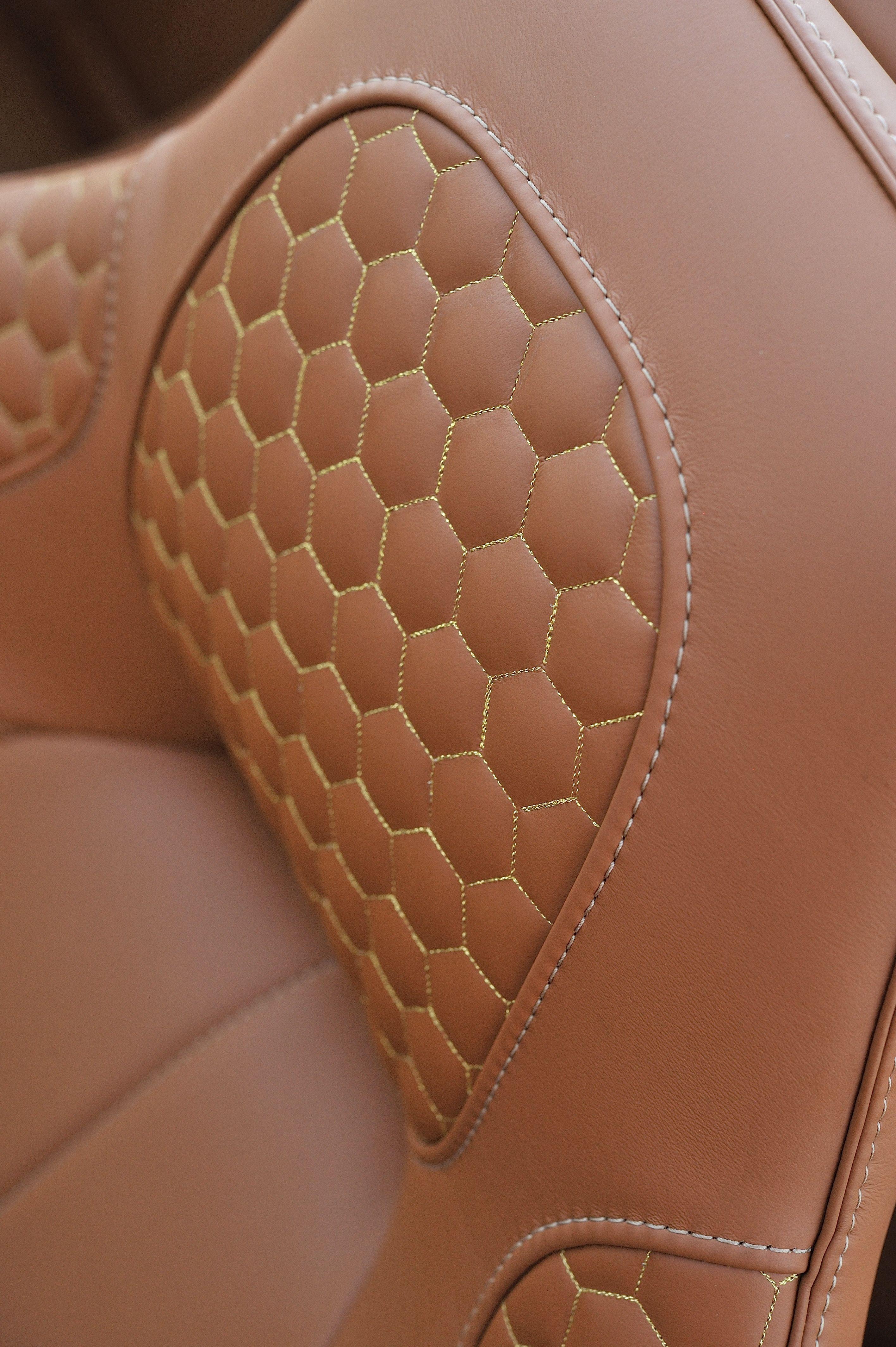 Aston Martin Vanquish Volante Automotive Upholstery Luxury Car Interior Leather Car Seats