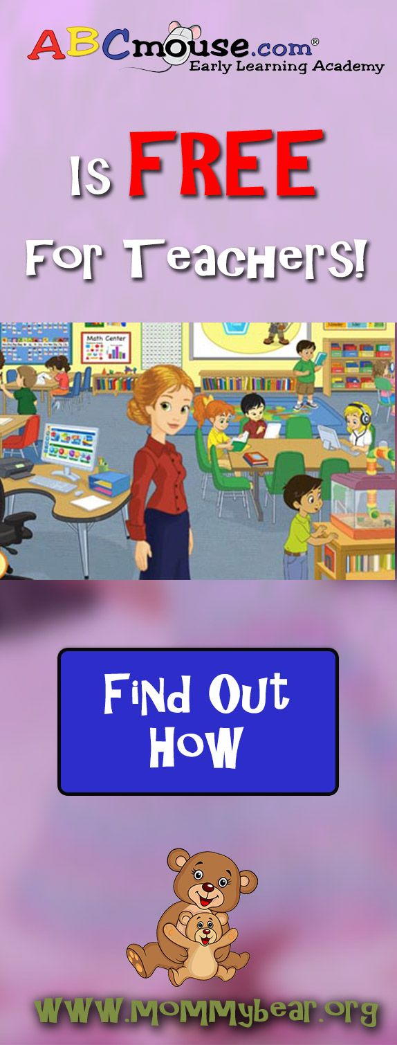 ABC Mouse: FREE for Teachers | Help for Moms | Abc mouse