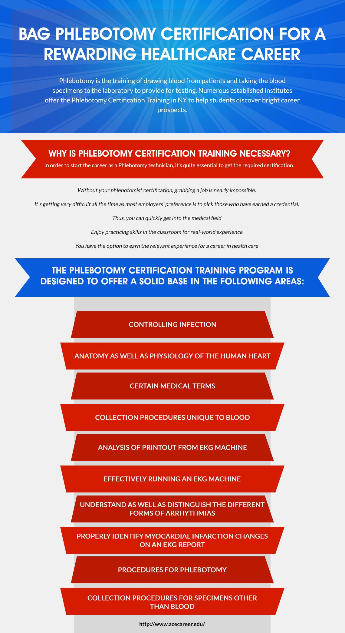Bag Phlebotomy Certification For A Rewarding Healthcare Career