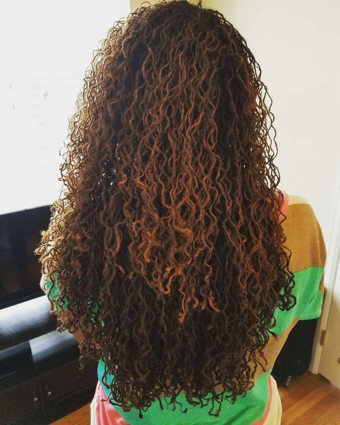 242 Likes 11 Comments Tammy Brown Imlovelocd On Instagram My Rockstar Consultant Client Friend Her 9 Year Natural Hair Styles Sisterlocks Hair Styles