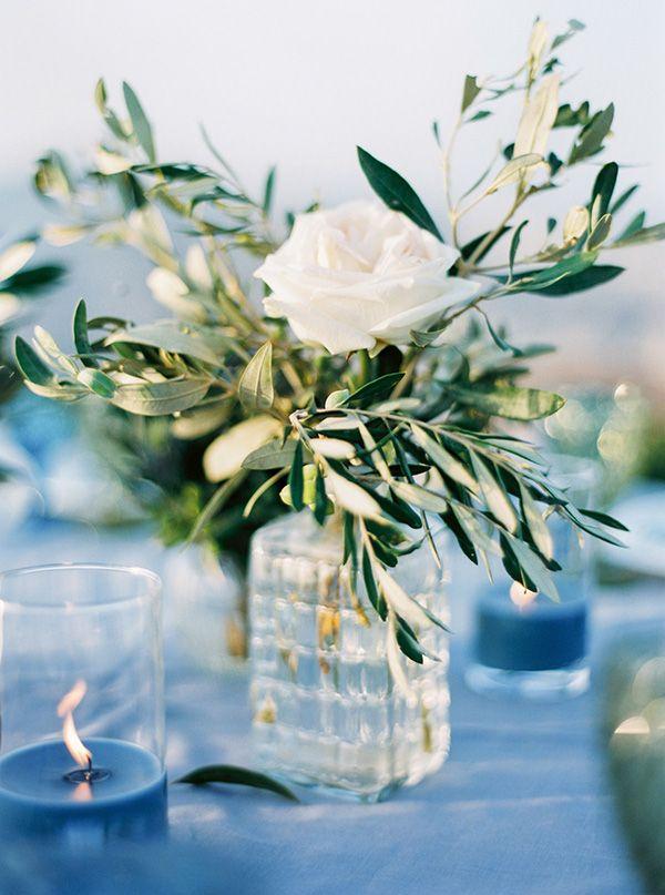 Boho chic this santorini wedding is a stunner - Griechische tischdekoration ...