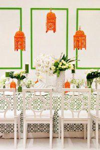 Table Design: Gloria Wong Design, San Francisco, CA; Floral: Nancy Liu Chin, San Francisco, CA; Table Setting: Hartmann Studios, Richmond, CA; Photography: Janae Shields Photography