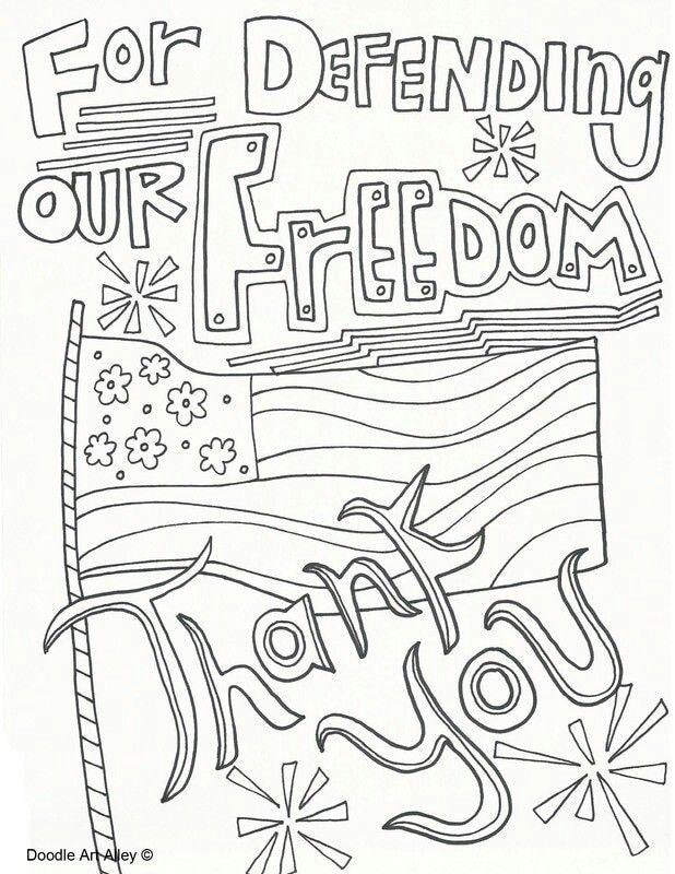Memorial Day Coloring Pages Image By Pamela Mchatten On July 4