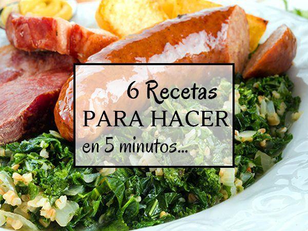 Qué hacer para comer en 5 minutos | Invertir mejor, Invertir y Comer ...