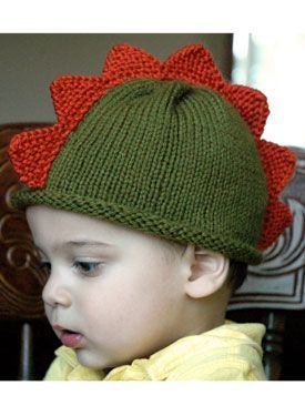 Dinosaur Hat - Knitting Patterns by Nona Davenport  8f252aae890