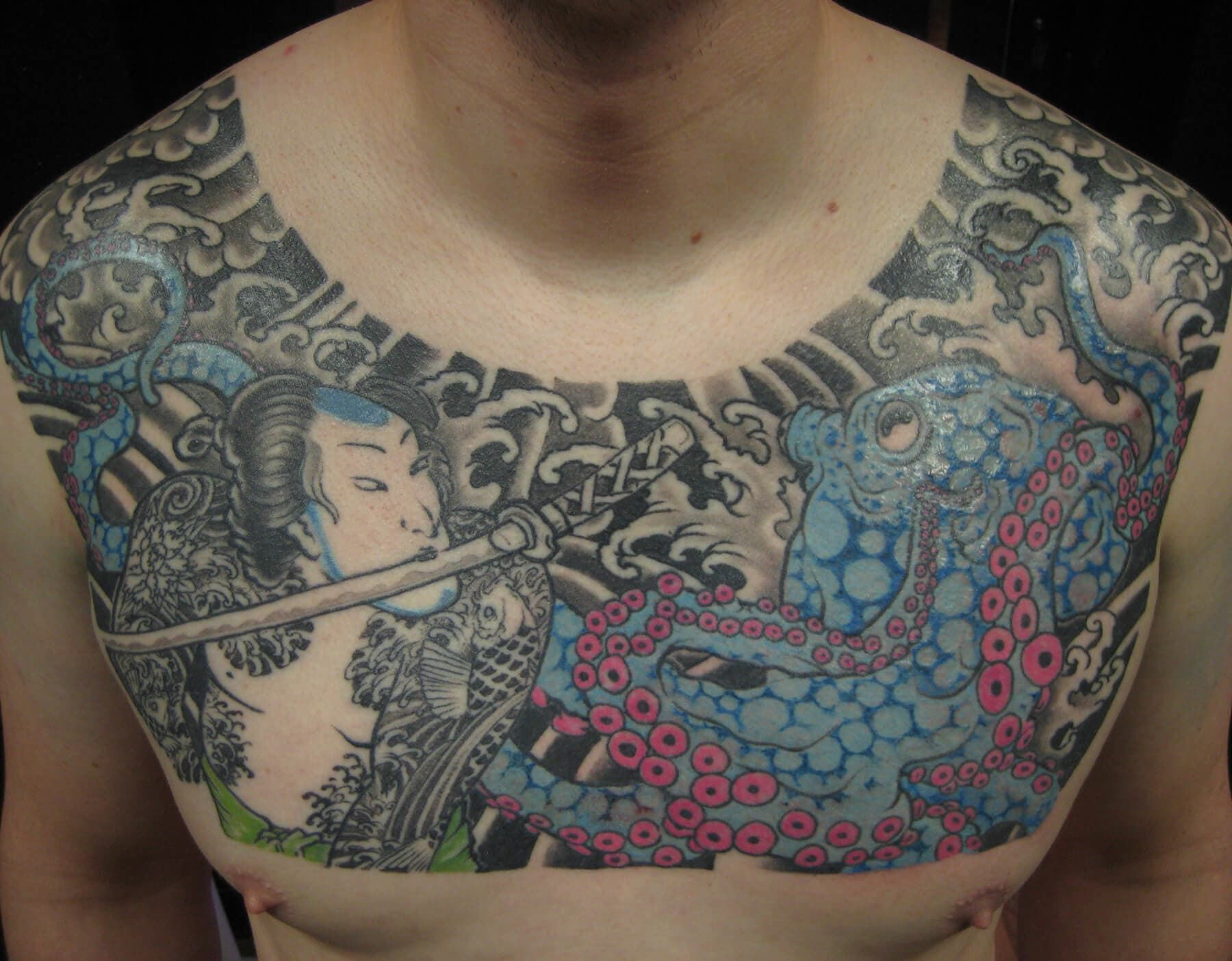 Chest Tattoo for Men and Women [5000+ Designs] in 2020