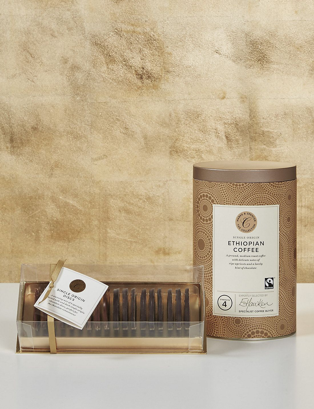 The Collections Single Origin Chocolate & Coffee Gift M