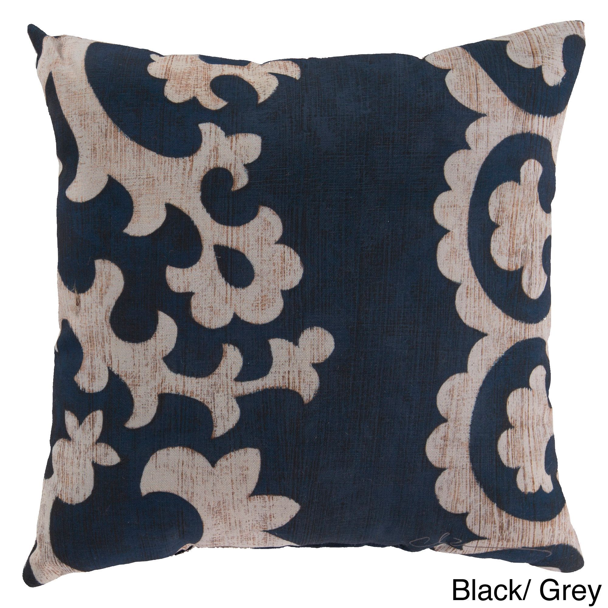 lizal products grey pillow decorative tan light single or embroidered pillows blue throw sets