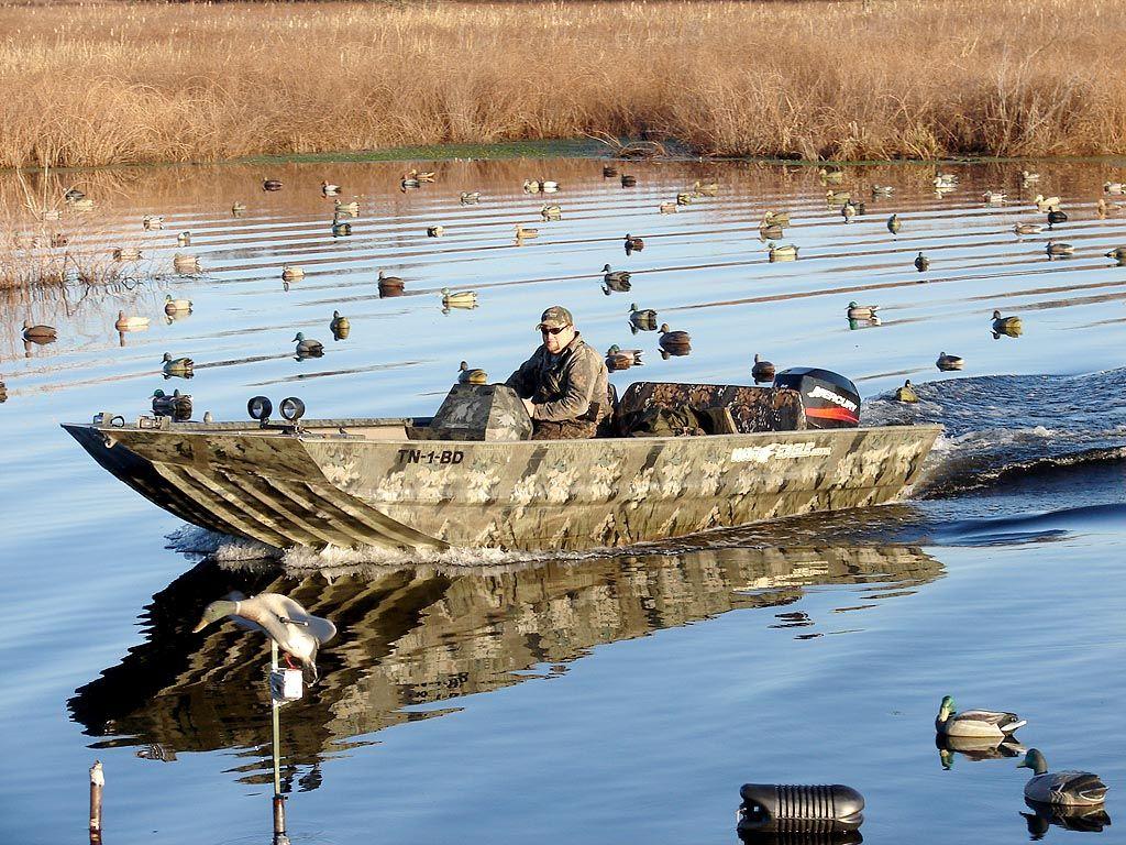 2372LDSV - War Eagle Boats Duck Hunting Boat, Duck Boat, Boat Blinds, John