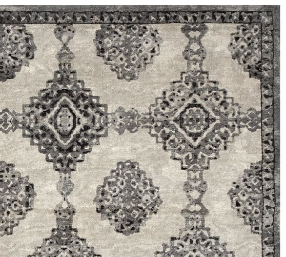 Karly Rug Ivory Black Potterybarn Rugs Rug Sale Home Decor Sale