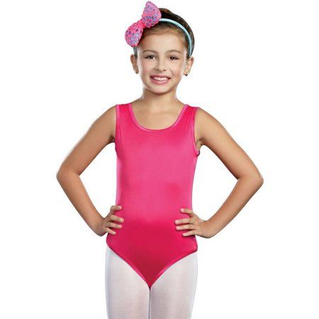 aedc9dff0e18 Kids Hot Pink Leotard