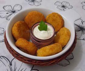 Na Biroskinha: Nuggets Caseiros de Frango