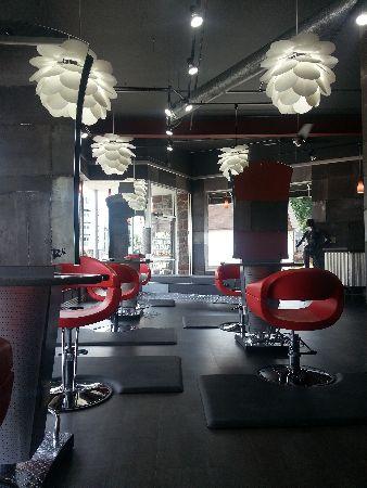 Hairys Hair Bar Hair Salon In Milwaukee Wi Home Beauty Salon Salon Style Hair Salon