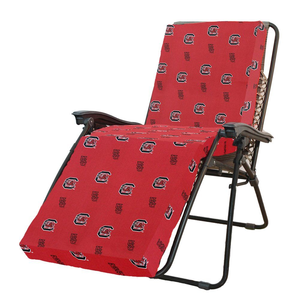 South Carolina Gamecocks 3 Section Chaise Lounge Seat Cushion