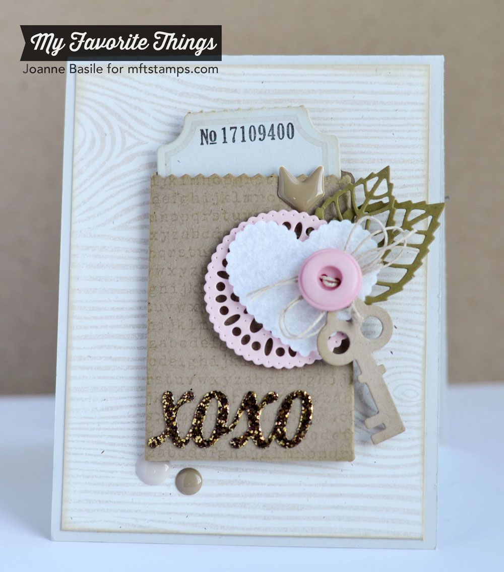 Lots of Love Valentine Card ...just a little something.... by Joanne Basile
