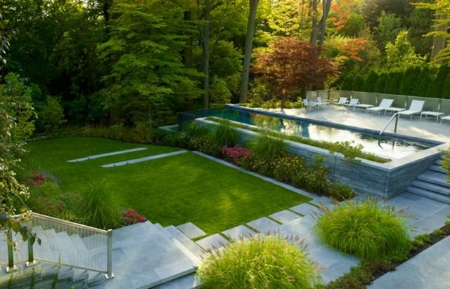 Maison design moderne avec beau jardin à Toronto | Toronto ...