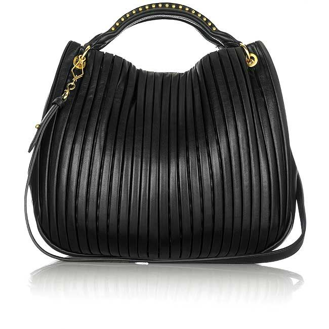 21349347e155 Miu Miu Bag Plisse black