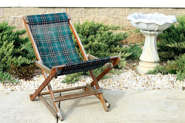 How To Clean Mesh Sling Patio Furniture Hunker