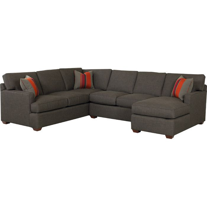 Klaussner Furniture Rory Sectional U0026 Reviews | Wayfair