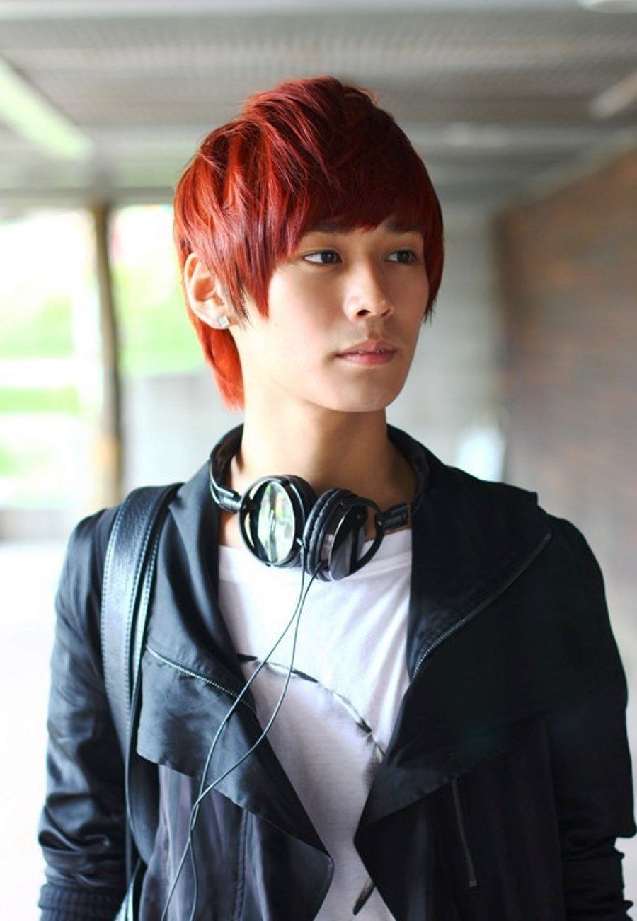 Dyed Hair Guy Google Search Korean Hairstyle Japanese Hairstyle Asian Men Hairstyle
